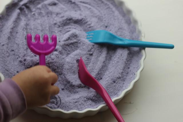 How to make Lavender scented sensory salt