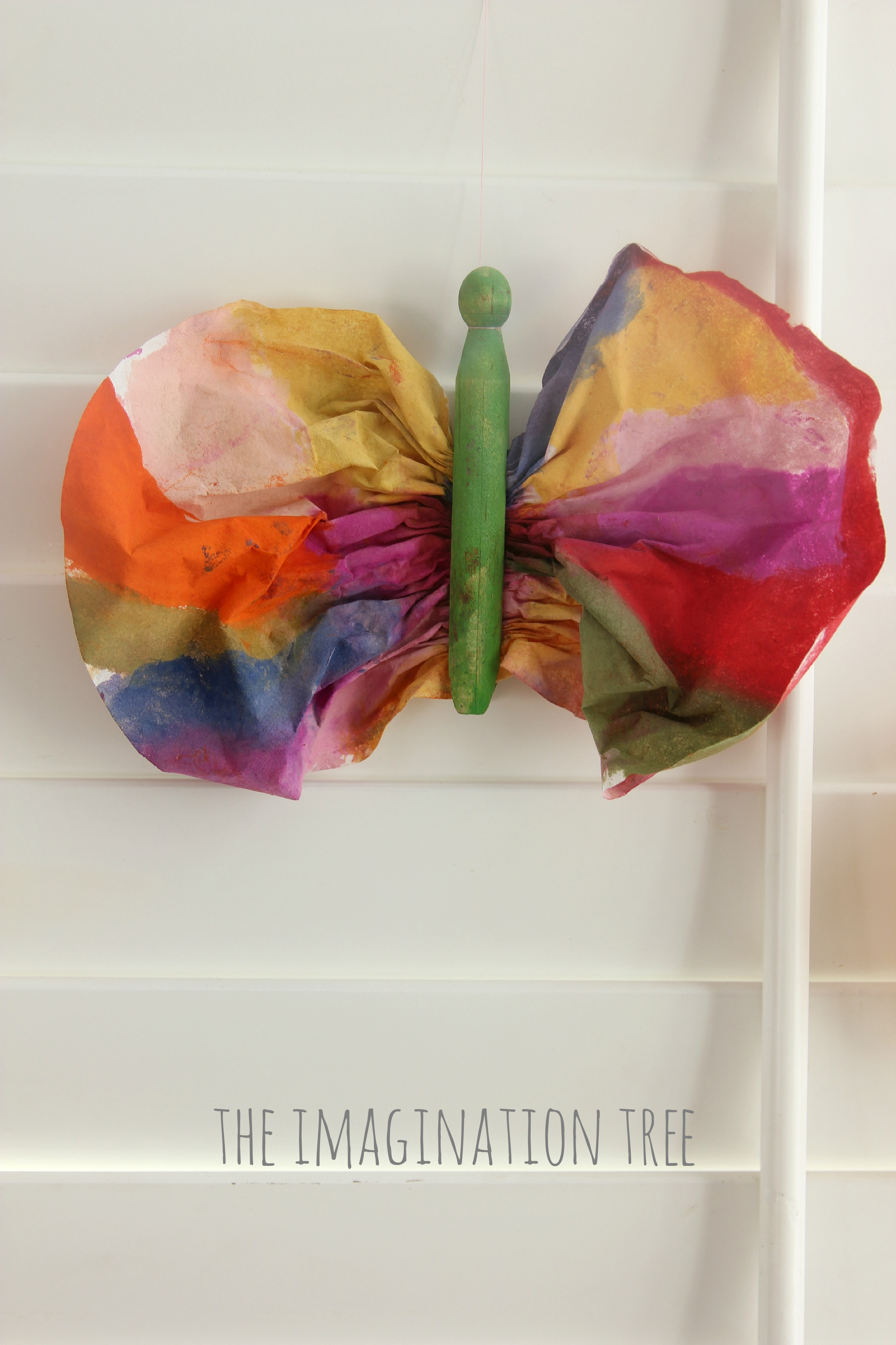 Coffee Filter Butterfly Craft The Imagination Tree