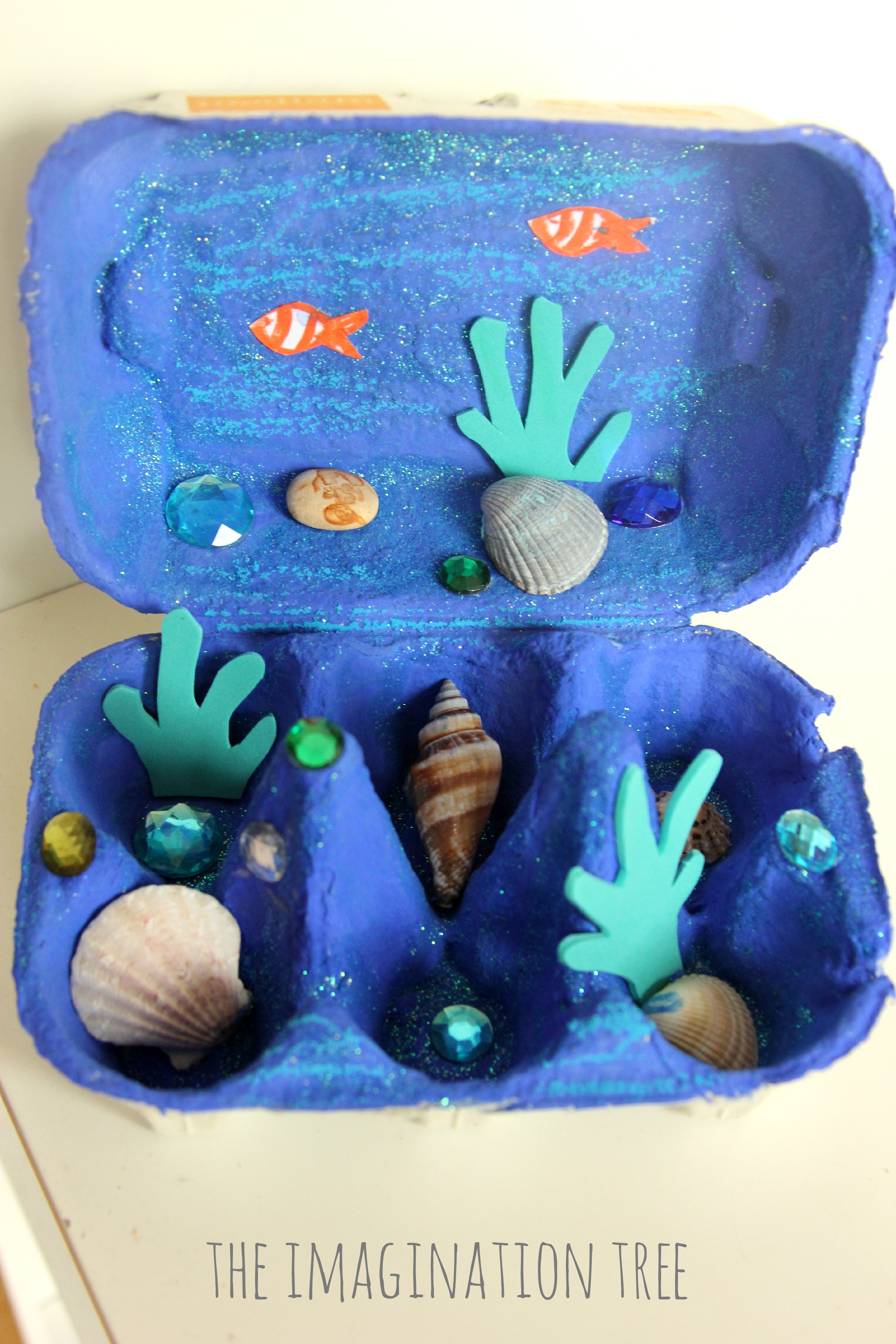 Exceptionnel Egg Carton Ocean Craft - The Imagination Tree FG01