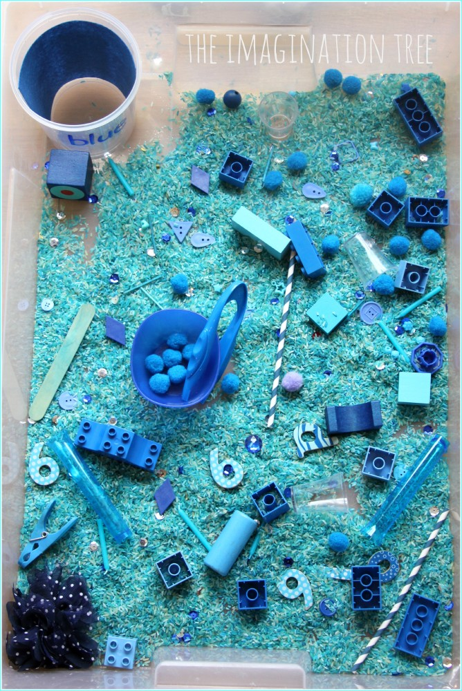 Giant-colour-themed-toddler-sensory-tub-