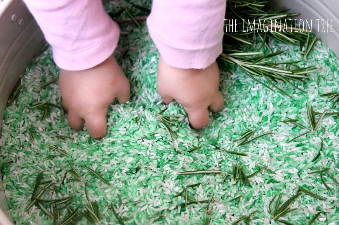 Natural herbal rice