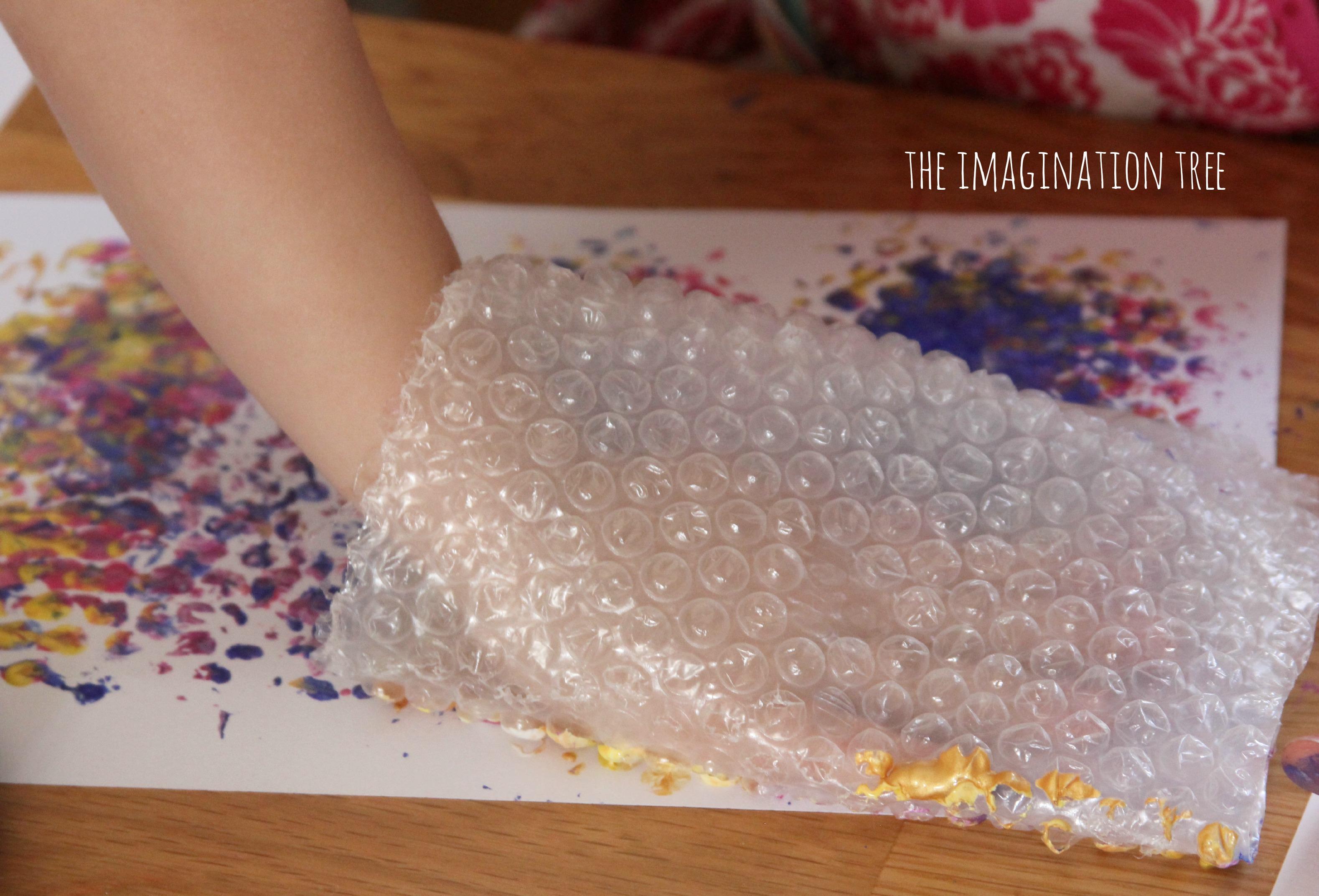 Bubble Wrap Print Fish Mobile The Imagination Tree