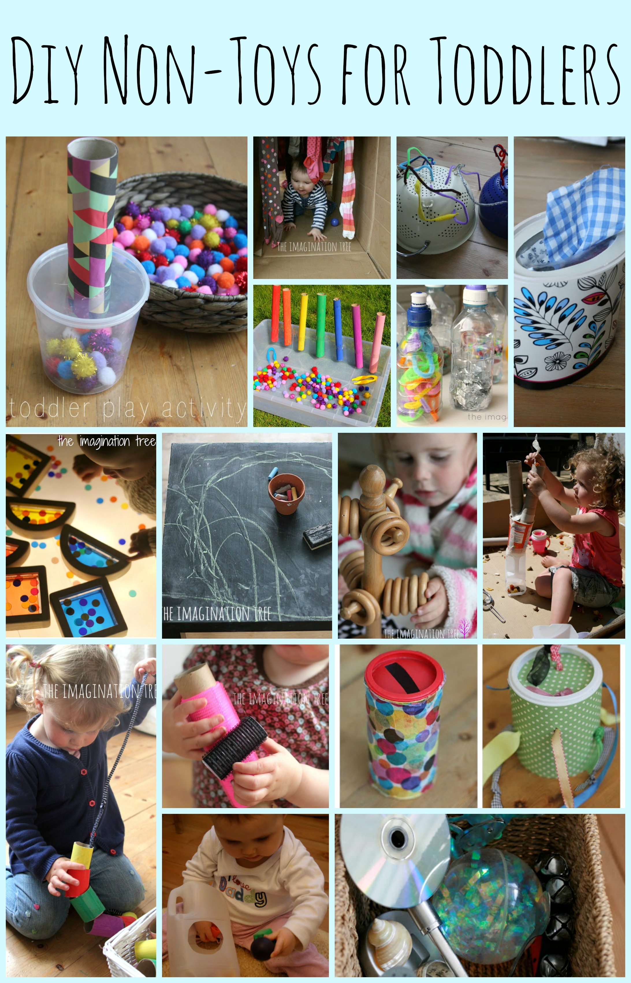 15 DIY Non Toys For Toddlers