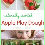 No Cook Apple Play Dough Recipe