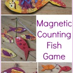 Magnetic Counting Fish Game
