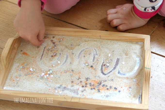 Star dust salt tray