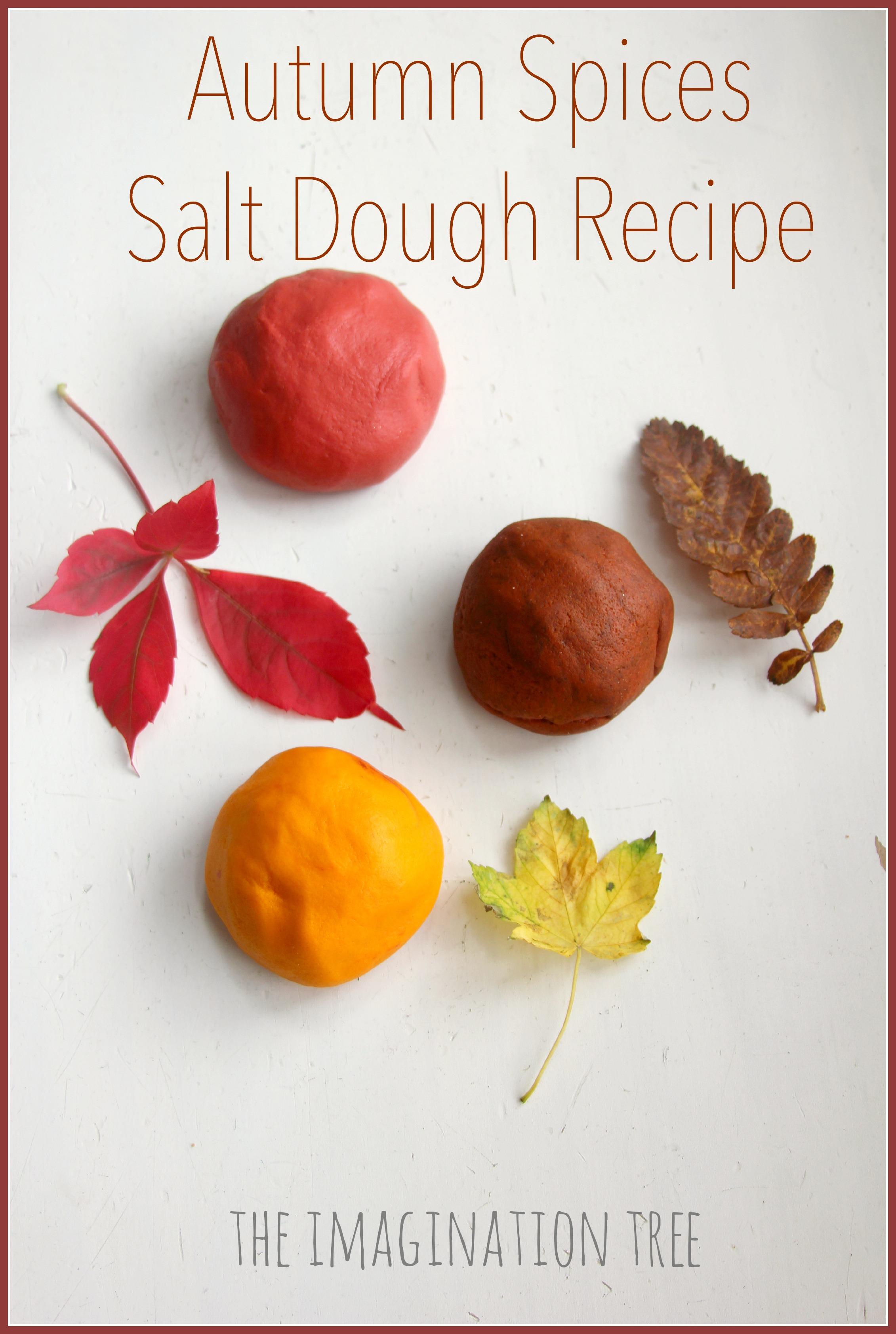 cinnamon salt dough leaf ornaments the imagination tree