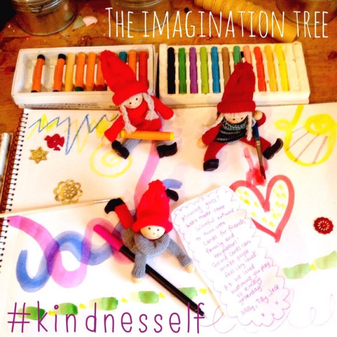kindness elves artwork