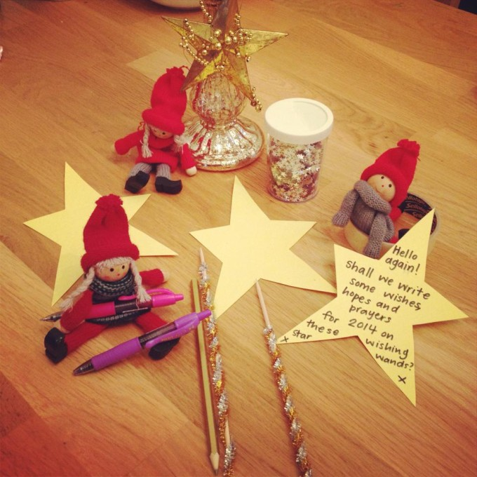 kindness elves magic wishing wands