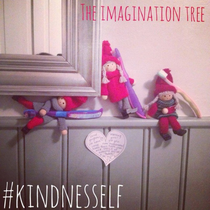 kindness elves new toothbrushes