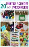 20 activities for preschoolers
