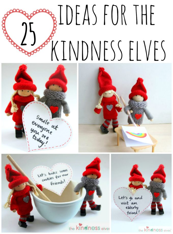 25 Ideas for the Kindness Elves - The Imagination Tree