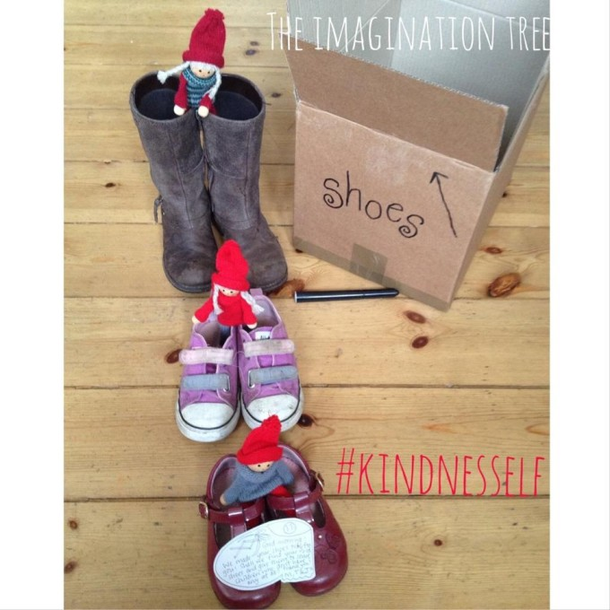 Kindness elves shoes