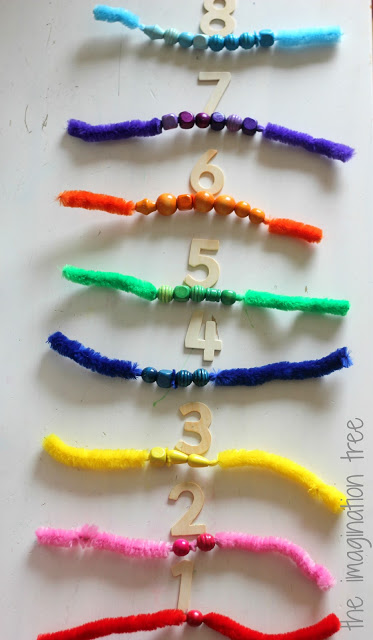 numbers+and+beads+on+pipe+cleaners