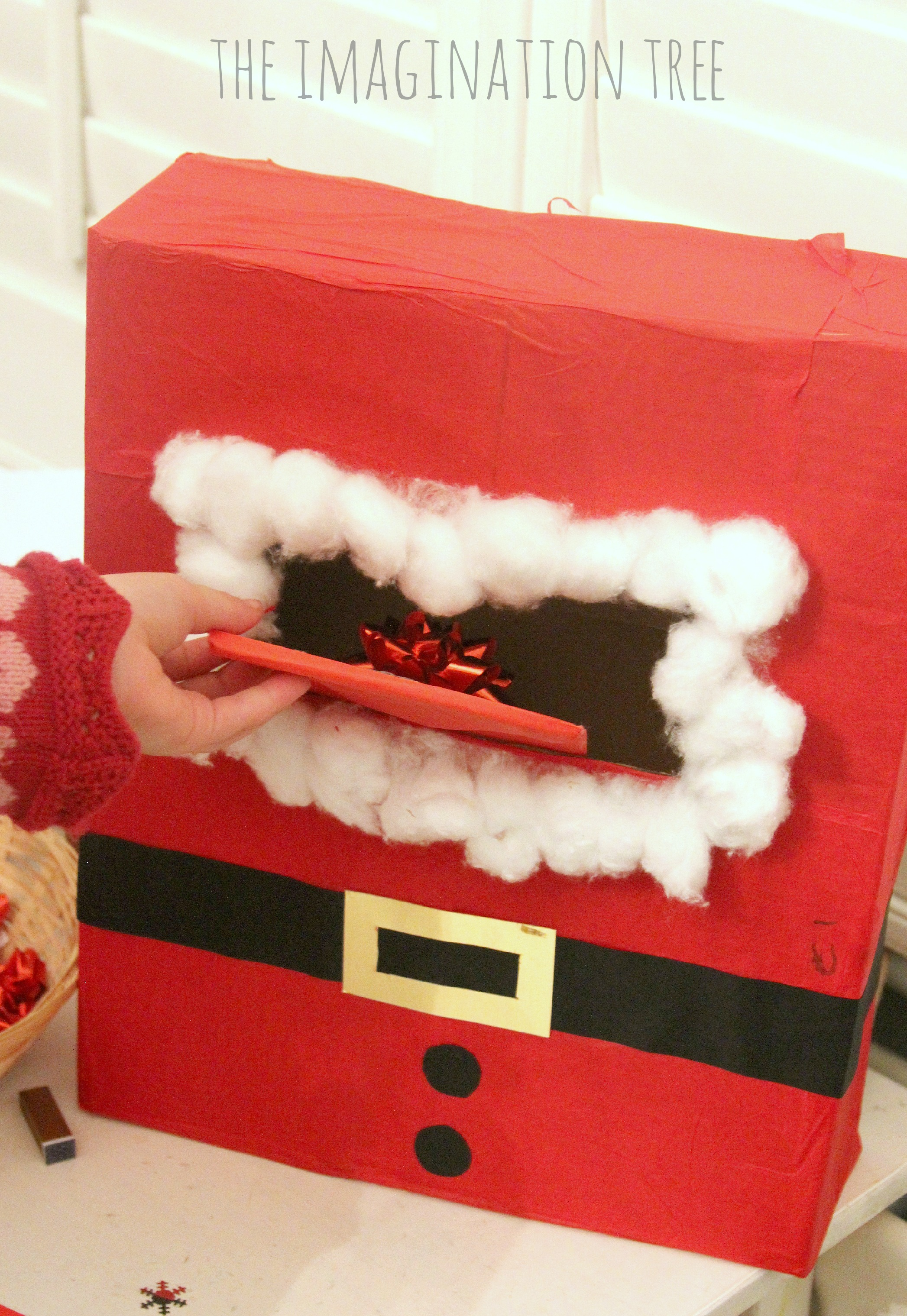 letters to santa mailbox diy literacy activity post office writing table 12802