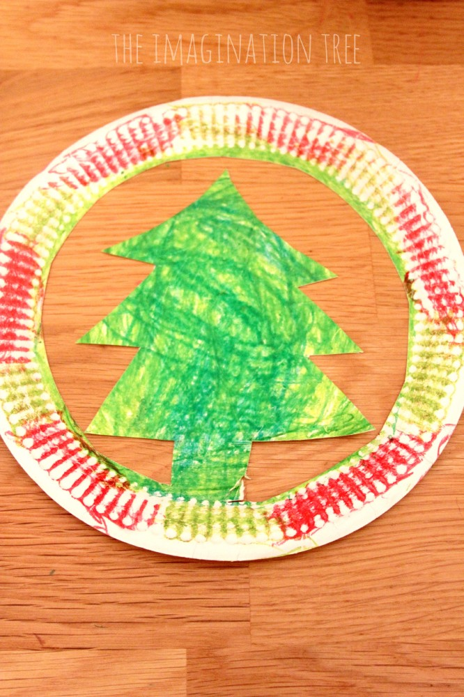 christmas tree hat template