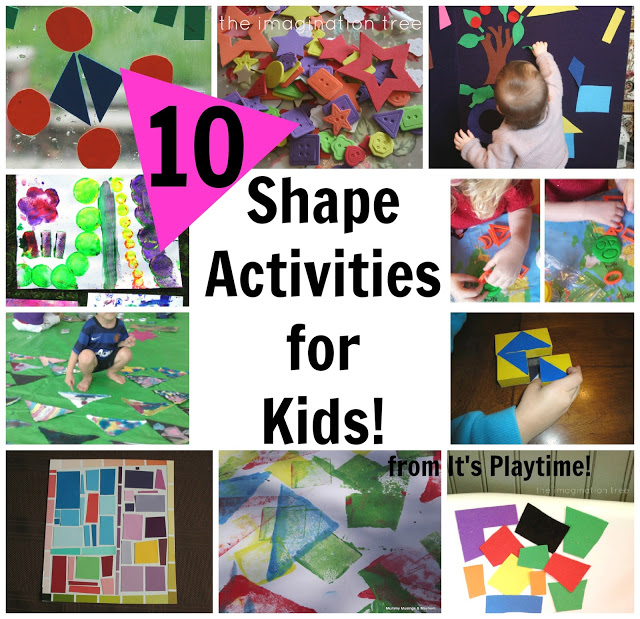 10 Shape Learning Activities for Kids [It's Playtime!]