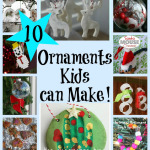 10 Christmas Ornaments Kids can Make [It's Playtime!]