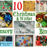 10 Sensory Bins for Christmas and Winter [It's Playtime!]