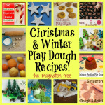 12 Christmas and Winter Play Dough Recipes