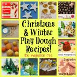 12 Christmas and Winter Play Dough Recipes