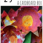 25 Creative Ways to use a Cardboard Box