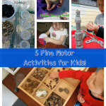 5 Fine Motor Skills Activities for Kids! [from It's Playtime]