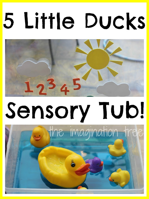 Five Little Ducks Storytelling Water Play
