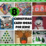 8 Christmas Cards Kids can Make! [It's Playtime]