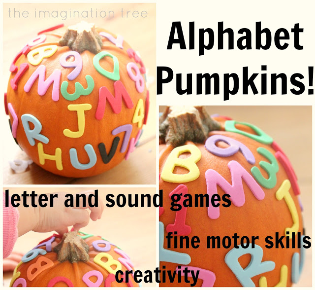 Alphabet Pumpkins and 5 Playful Literacy Games!