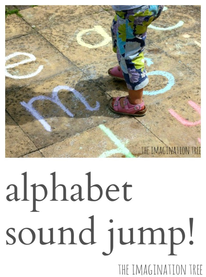 Noisy Letter Jump Phonics Game!