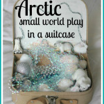 Arctic Small World Play in a Suitcase