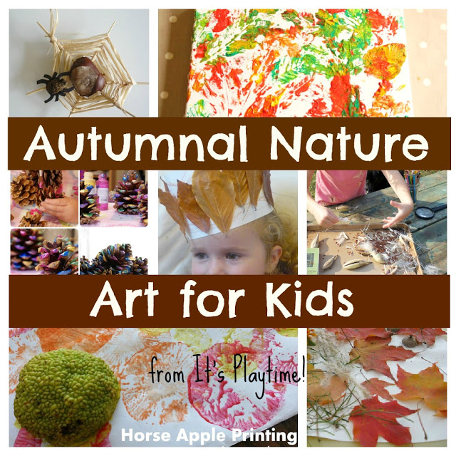 Autumnal Nature Art Activities for Kids! [It's Playtime]