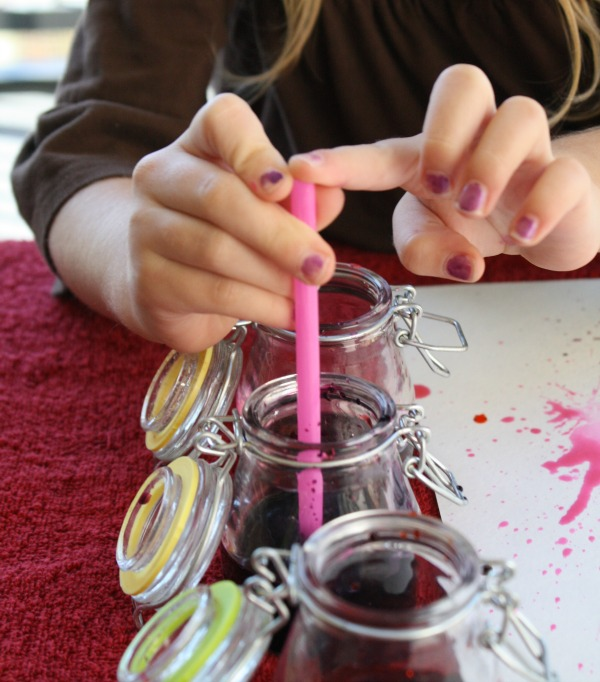 Blow painting tips