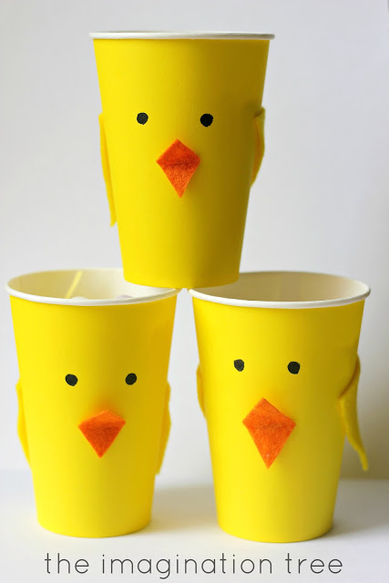 Easter Chick Treat Cups!