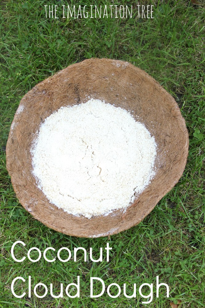 Coconut Cloud Dough Recipe