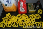 Alphabet Cookies!