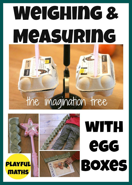 Weighing and Measuring With Egg Cartons: Playful Maths