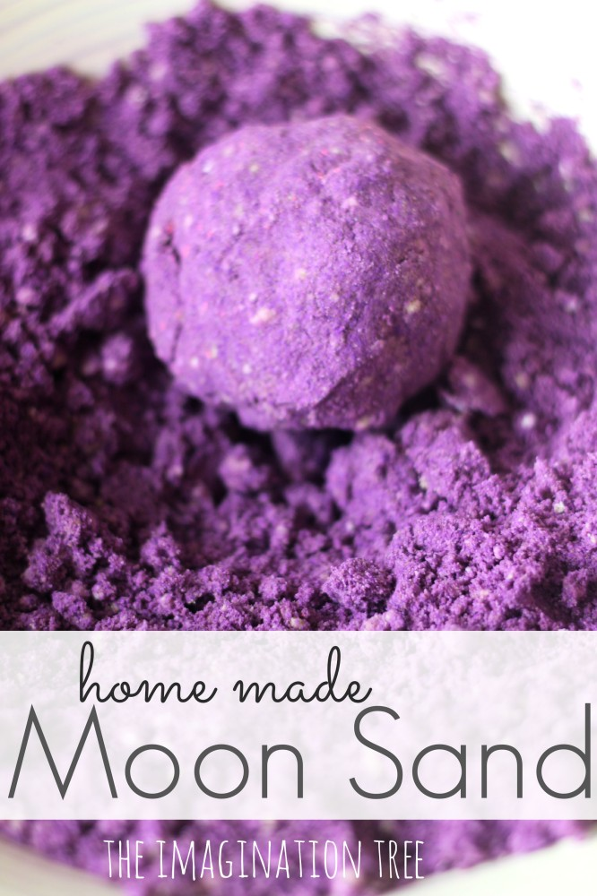 Home Made Moon Sand Recipe