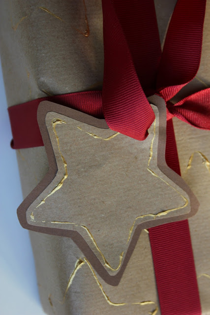 Cookie Cutter Wrapping Paper and Gift Tags