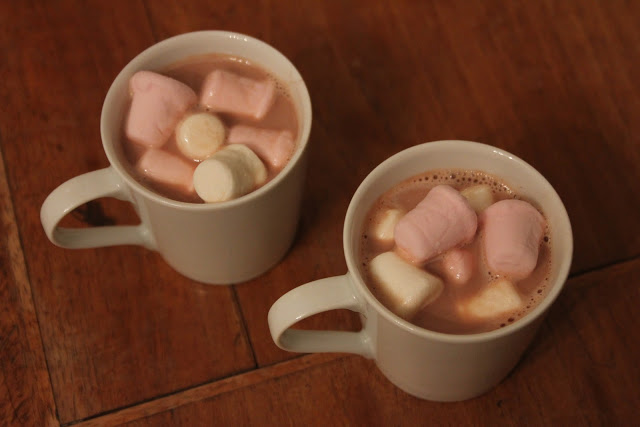 Hot Chocolate and Marshmallows- An Advent Activity!