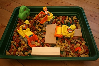 Small World Play: Construction Site