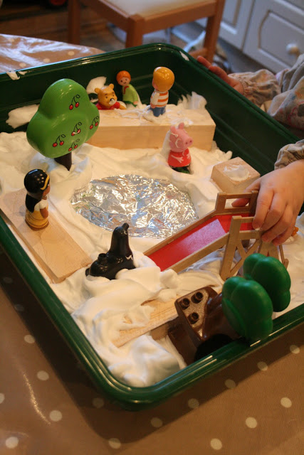 Small World Play: The Park in the Snow!