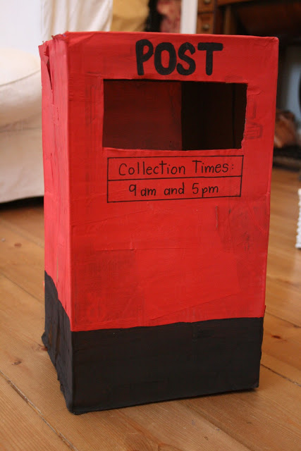 Post Box Pretend Play