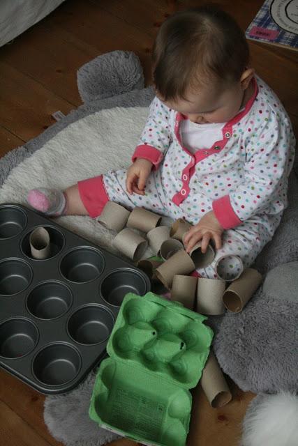 Baby Play: Muffin Tin Sorting