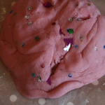 Strawberry Sparkle Play Dough