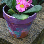 Flower Pot Painting