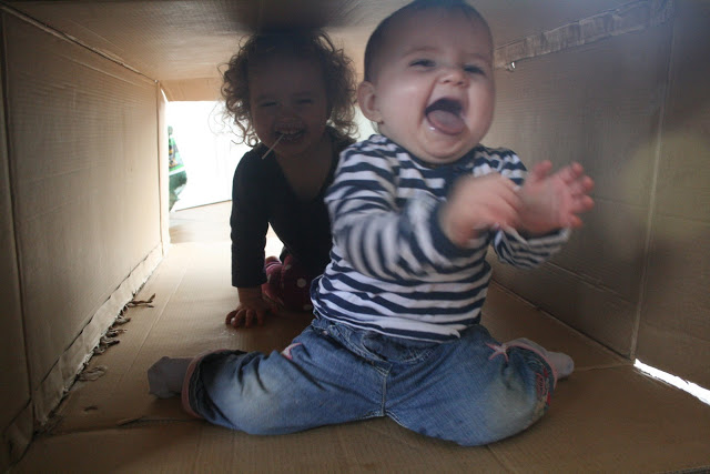 Baby Play: Cardboard Box Play Tunnel