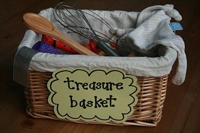 Heuristic Play- Treasure Baskets