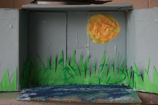 Duck Pond Story Box